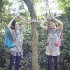 「夏山用バックパック」ってどれくらい涼しいの!? 双子ちゃんが「ふたごやま」でテスト!(その2)