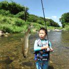 <夏休み大作戦>ルアーでアユを釣ろう!
