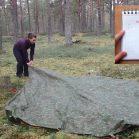 【海外】3m四方のシートで作る3種類のシェルターをエストニアのアウトドアガールが伝授